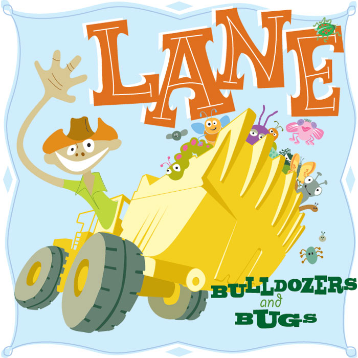 Bulldozers & Bugs by Lane Murchison