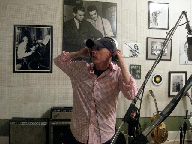 Recording at Sun Studio